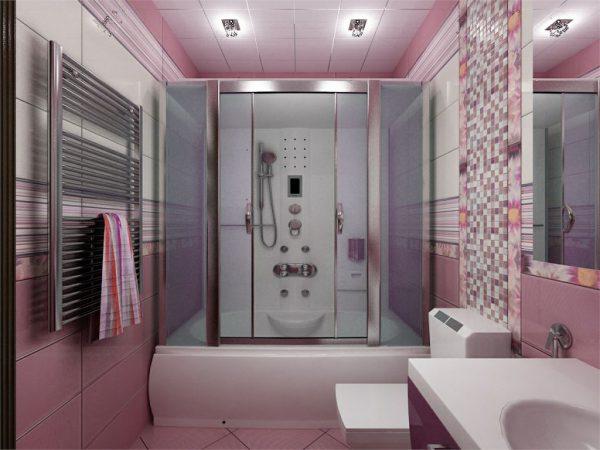 Гибрид ванны и душевой кабины