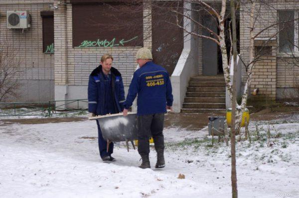 Вывоз ванны специалистами