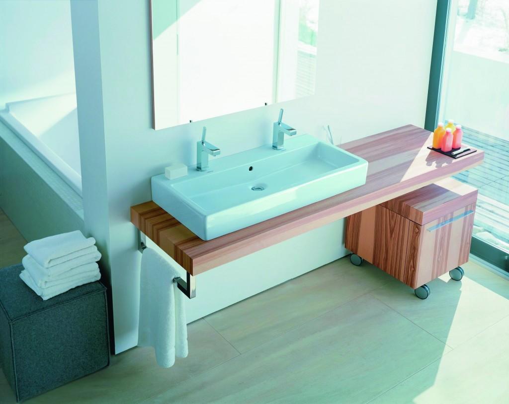 Как сделать в ванной столешницу с раковиной