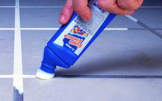 Затирка для швов плитки в ванной — выбор и применение