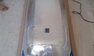 Как утеплить стальную ванну в домашних условиях?