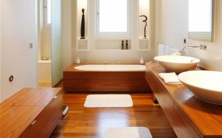 Гидроизоляция деревянного пола в ванной — материалы и технология