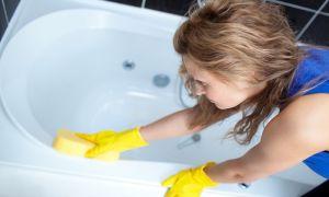 Как отбелить ванну своими руками — средства и способы