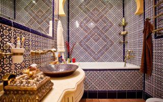 Ванная в восточном стиле – оригинальный интерьер для истинных востоковедов!