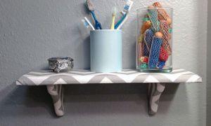 Как подобрать полки для ванной комнаты