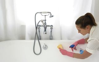 Уход за акриловой ванной в домашних условиях