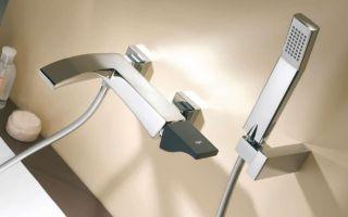 Что собой представляет собой устройство смесителя для ванной с душем?