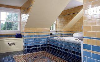 Пол в ванной – устройство, гидроизоляция и облицовка