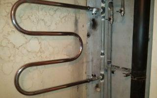 Как подключить полотенцесушитель к системе отопления в ванной комнате?