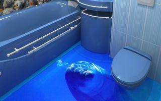 3d плитка для ванной комнаты — виды, плюсы и минуса