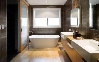 Ламинат для ванной — виды и особенности