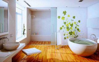 Пол в ванной в деревянном доме — что нужно знать