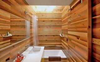 Ванная под дерево – нестандартный подход к дизайну санузла