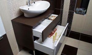 Как подобрать шкаф под раковину в ванную комнату