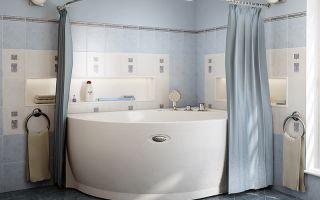 Практичные шторки для ванной: особенности выбора