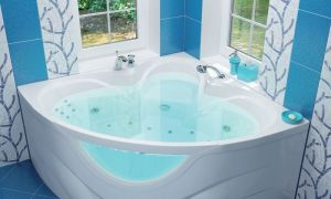 Виды угловых ванн – какую выбрать и какого размера