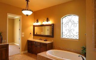 Какие бывают светильники для ванной комнаты?