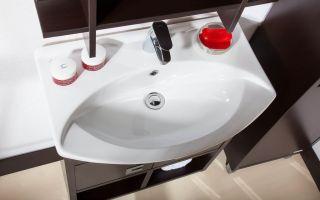Какие бывают размеры раковины для ванной комнаты