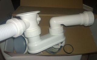 Как собрать сифон для ванны – инструкция для самостоятельного монтажа