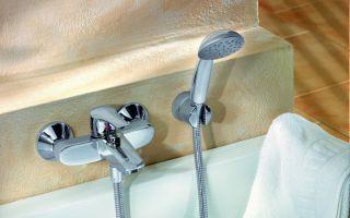 Как отремонтировать смеситель для ванной с душем