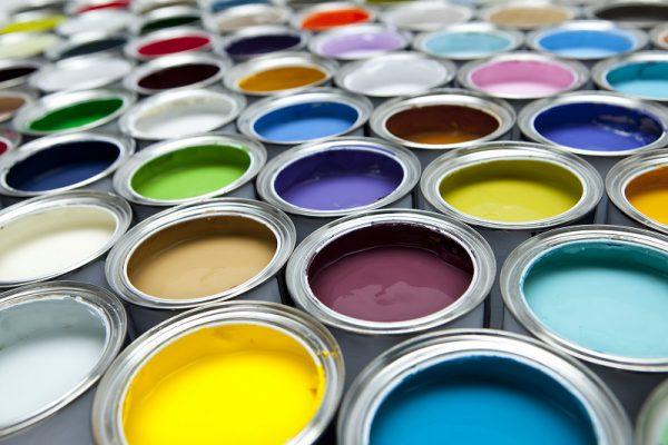 Различные оттенки красок