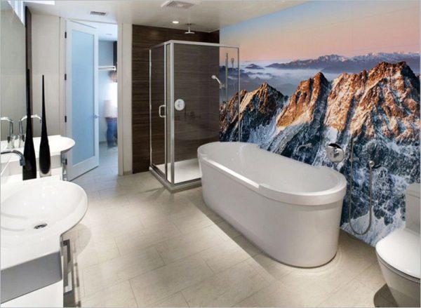Фотообои с изображением гор