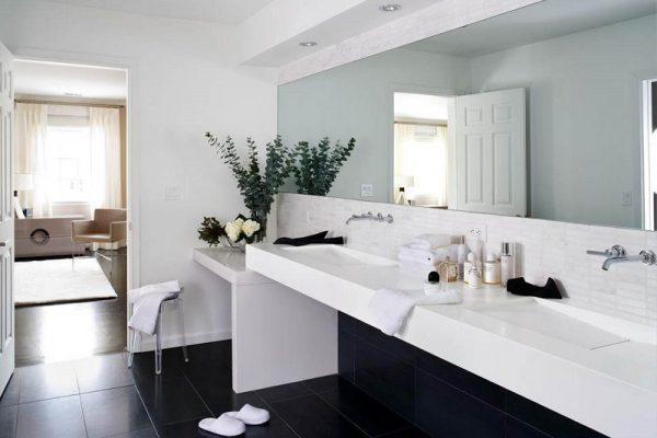 Оригинальный и эстетичный интерьер ванной комнаты