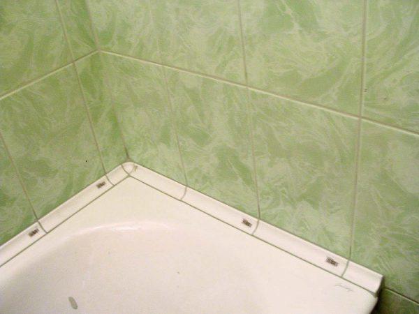 Уголок в ванной