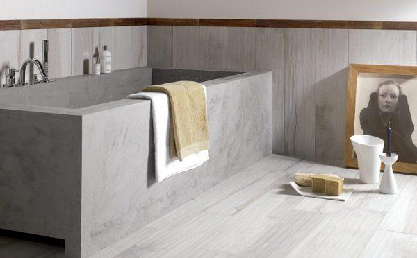 Готовая ванна из бетона
