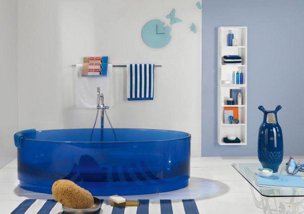 Оригинальная стеклянная ванна