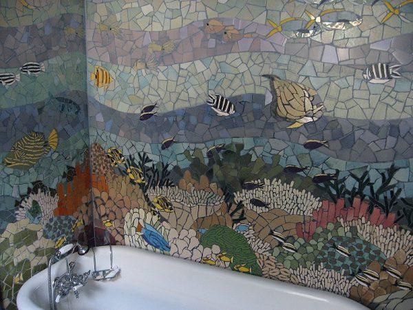 Рисунок из мозаики