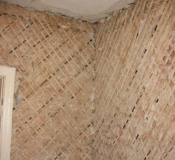 Деревянное основание под укладку плитки на стену