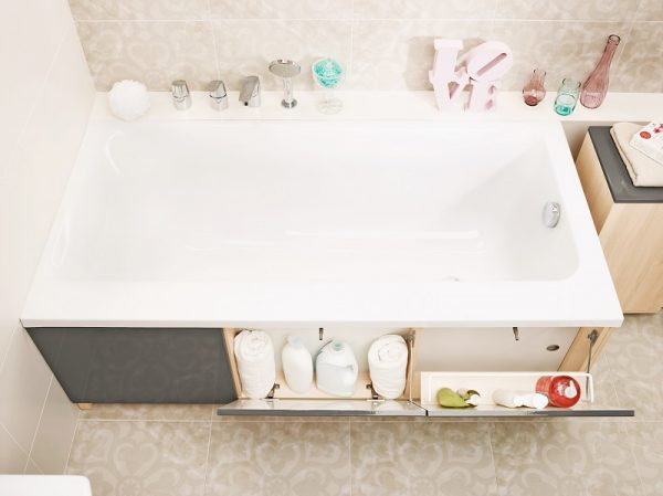 Экран под ванну, удобен в использовании