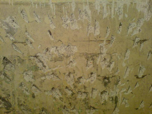 Стена с насечками