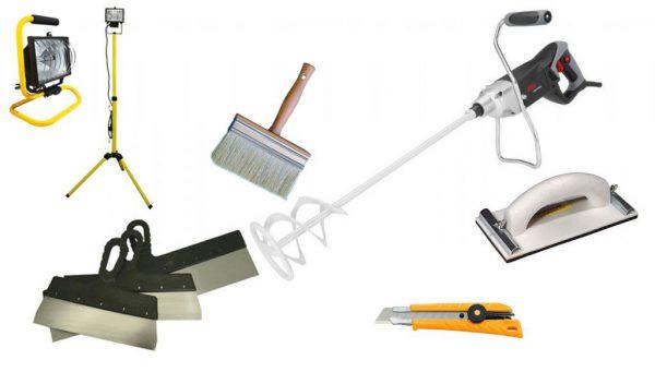 Инструменты, для бетонной стяжки