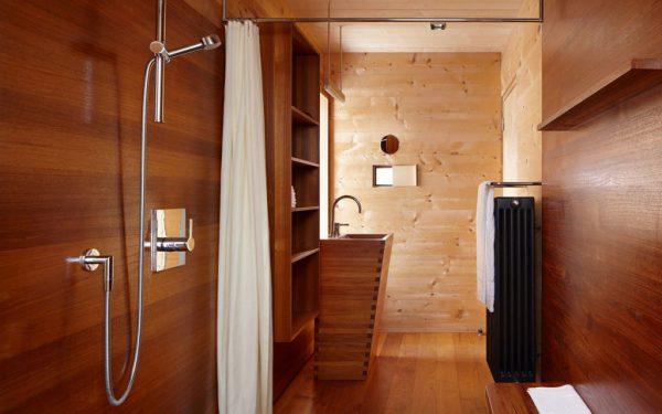 Душевые кабины как выбрать для деревянного дома