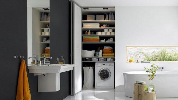 Раковина со столешницей под стиральную машину 50 фото в ванную комнату под одной столешницей модели с тумбой как установить своими руками единая с умывальником