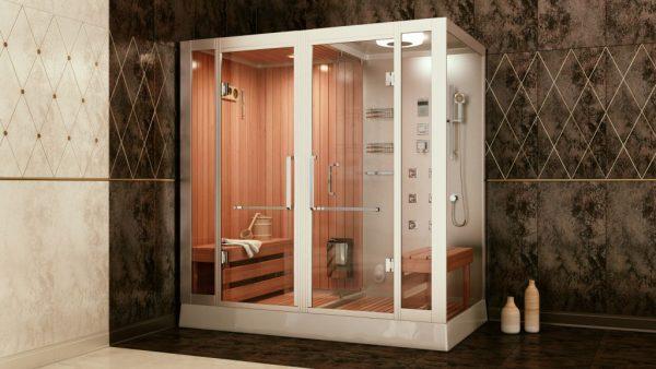 Как установить душевую кабину в маленькой ванной комнате