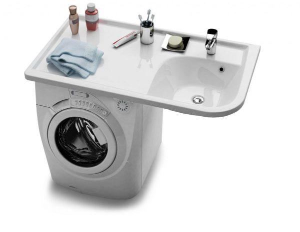 Раковина на стиральной машине