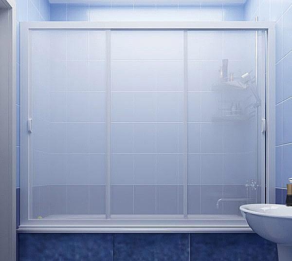 Пластиковая ширма для ванны